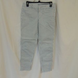 OLD NAVY Womens Pixie Pants Size 4 Blue White